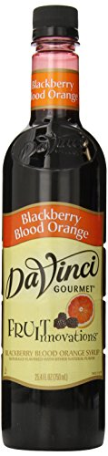 DaVinci Gourmet Fruit Innovations Syrup, Blackberry Blood Orange, 25.4 Ounce (Fruit Syrup)