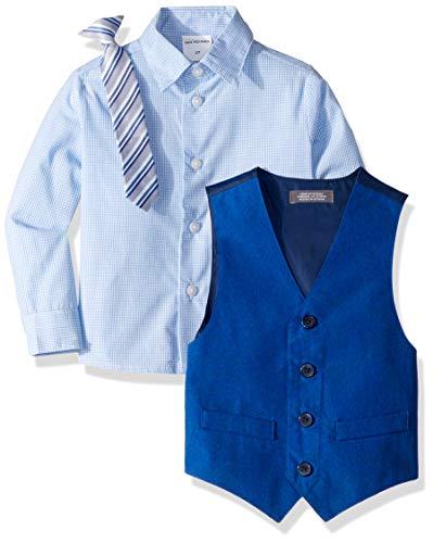 Van Heusen Boys' Little 4-Piece Formal Dresswear Vest Set