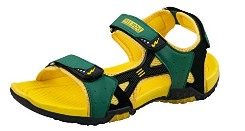 CamPUs Men s Yellow Synthetic Sandals -10 Uk  Buy Online at Low Prices in  India - Amazon.in e03edd8d828c