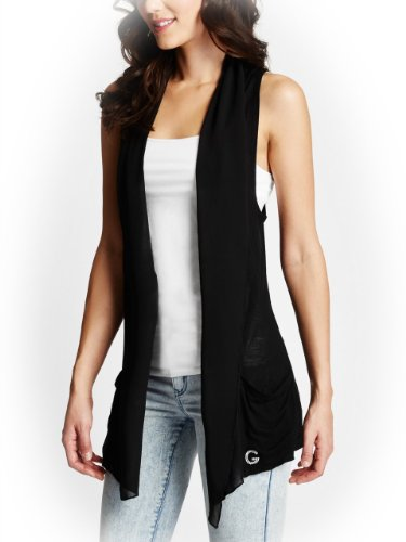 G by GUESS Women's Kendra Draped Knit Vest