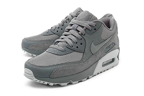Nike Women's Air Max 90 Pemium Grey 443817-004 (SIZE: 10)