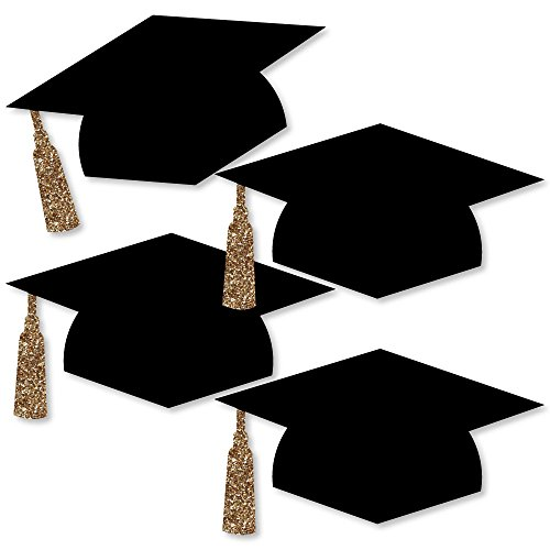 Gold Tassel Worth The Hassle - Graduation Hat Decorations DIY Party Essentials - 20 - Decorations Diy Party