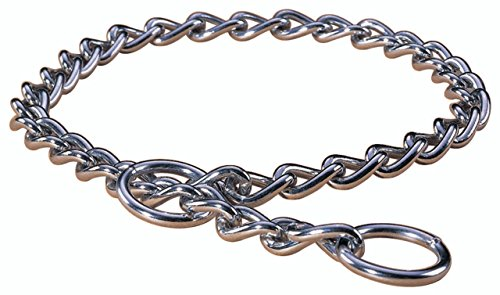 Hamilton Choke Chain Dog Collar, 20-Inch