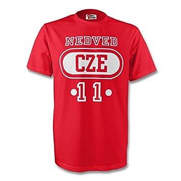 31e070265 GILDAN Pavel Nedved Czech Republic Cze T-shirt (red) - Kids  Amazon ...