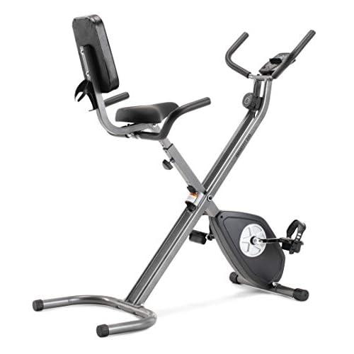 CADENCE Unisex - Bicicleta estática plegable SMARTFIT 200, negro y plata. a buen precio