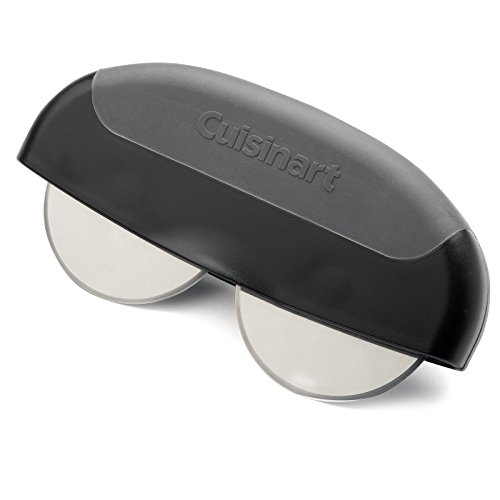 Cuisinart CPS-124 Dual Wheel Pizza Cutter, Silver/Black