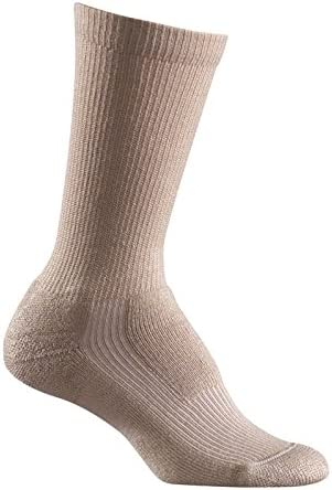 6 Pairs Men/'s White Snap On Crew Socks L ~ FREE Shipping ~ MADE IN USA     New!