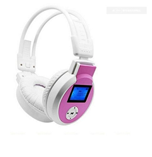 HaoYiShang LCD Foldable Wireless MPS Player Headset Headphon