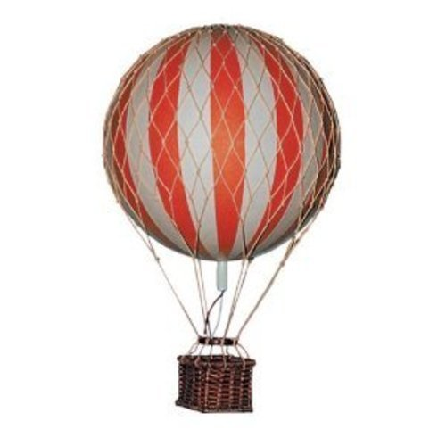 Hot Air Balloon Home Decor - Authentic Models Floating the Skies, Color: Red (Hot Model compare prices)
