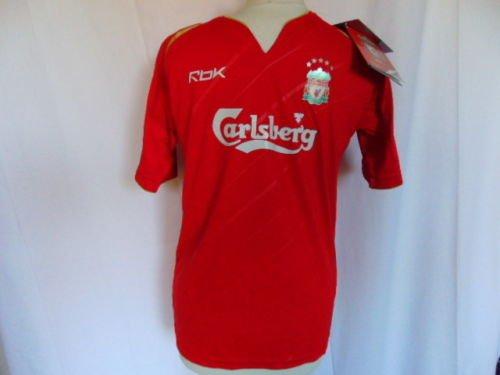 Reebok 2005-2006 Liverpool FC Home Champions League Shirt Child Large 152cm BNWT
