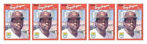 (5) 1990 Donruss Learning Series #48 Tony Gwynn Baseball Card Lot Padres