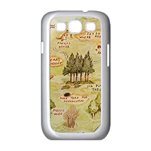 Customized Winnie the Pooh Hard Case For Samsung Galaxy S3 KHR-U583020
