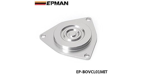 epman - Alta calidad Auto Turbo Válvula De Derivación Blanking Placa Para Mitsubishi CBV bloque Off placa ep-bovcl01mit: Amazon.es: Coche y moto