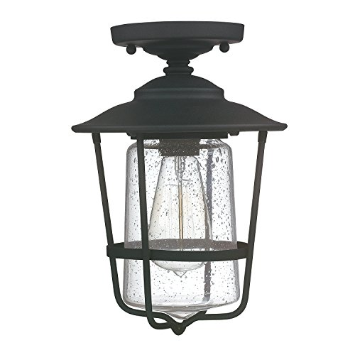 Capital Lighting 9607BK One Light Outdoor Ceiling from Capital Lighting