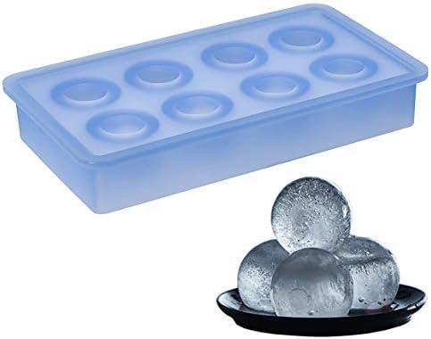 [Gesponsert]Lurch 10436 Eiswürfelbereiter Kugeln, ø 3,3 cm, eisblau