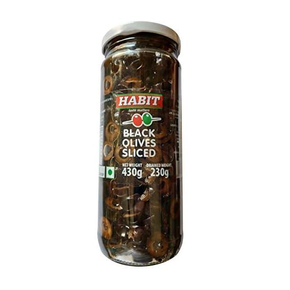 Luxeapers Habit Black Sliced Olives