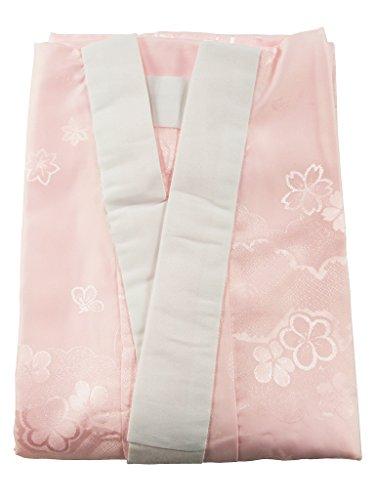 本振袖用 お仕立て上がり 半衿付 長襦袢 ピンク Mサイズ