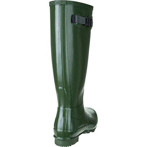 Jägare Stövlar Norris Fält Glans Boot - Kvinna Vintage Grön