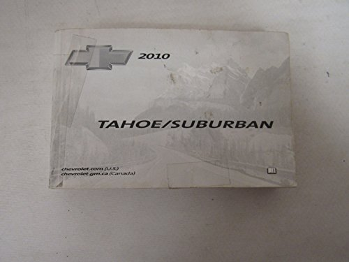 2010 Chevrolet Tahoe / Suburban Owners Manual