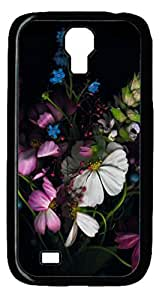 Colorful Flowers Protective Hard PC Snap On Case for Samsung Galaxy S4 I9500-1122099