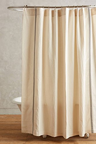 Lilya Linen Shower Curtain: Amazon.co.uk: Kitchen & Home