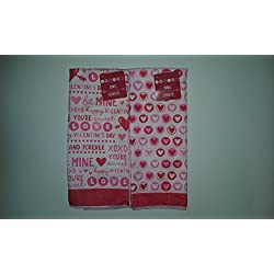 Valentine's Day Microfiber Kitchen Towels Bundle