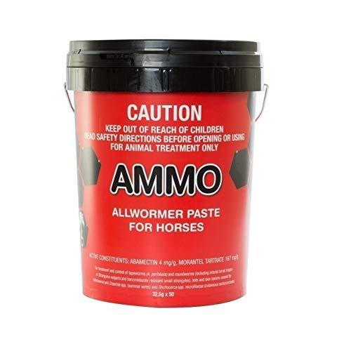 CEVA AMMO ALLWORMER Paste for Horses 32.5GX50(Stud Pack) (WCASP)