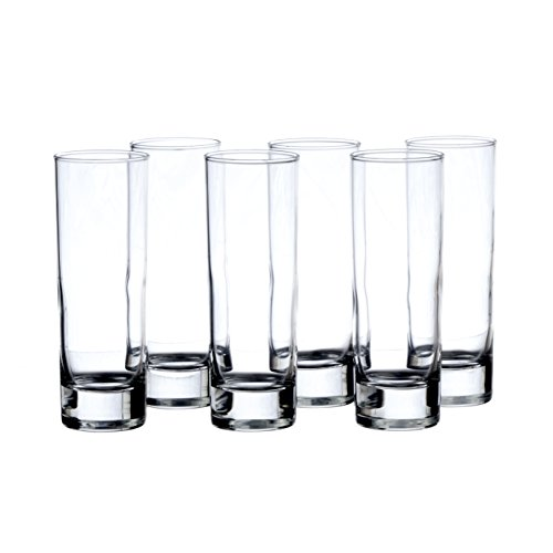 ISLANDE Water/Beverage 7.5 Oz HIGHBALL Glasses ARCOROC Sets (24) ()