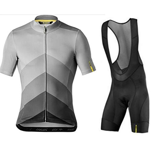 (2019 Summer Cycling Jersey Men's Short Sleeve Set Clothing Bike Clothes Bib Shorts Bicycle Maillot Breathable Quick Dry)