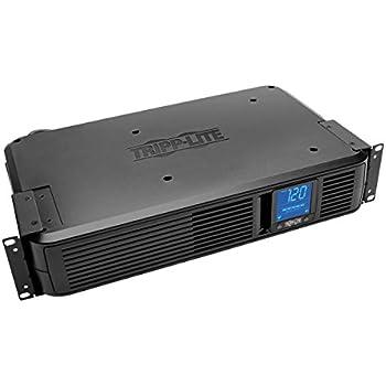 Tripp Lite 1500VA Smart UPS Back Up, 900W Rack-Mount/Tower, LCD, AVR, Extended Runtime Option, USB, DB9 (SMART1500LCDXL)