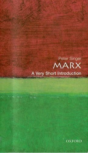 Marx: A Very Short Introduction (Very Short Introductions) by Peter Singer (12-Oct-2000) Paperback