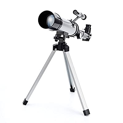 Merkmak Telescope Star Finder with Tripod 360mm 50mm HD Zoom Monocular Space Astronomical Spotting Scope for Kids and Beginner