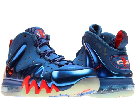Nike Air Barkley Posite Max 76ers Mens Basketball Shoes 555097-300 Energy 8.5 M US
