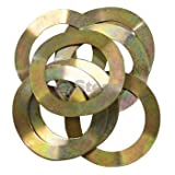 Stens 416-588 Metal King Pin Wave Washer, Replaces Club Car: 1022884-01, 102288401, Fits Club Car: Precedent, 2004 and Newer (Pack of 10)