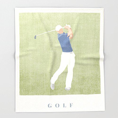 Society6 SUMMER GAMES / Golf Throw Blankets 88'' x 104'' Blanket