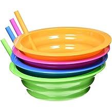 Arrow Plastic Sip-A-Bowl Assorted Colors, 22 oz.