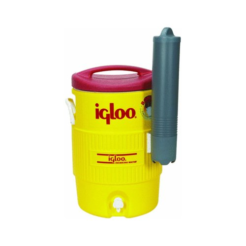 Igloo 400 Series 5-Gallon Beverage Cooler with Cup Dispenser – Maintains Ice for 3 Days in 90 F