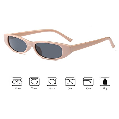 pequeño Retro Juleya moda Vintage hombres mujeres UV400 gafas marco de C3 gafas retro sol Rrww84C0qx