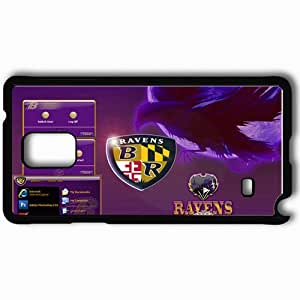 Personalized Samsung Note 4 Cell phone Case/Cover Skin 457 baltimore ravens Black by supermalls