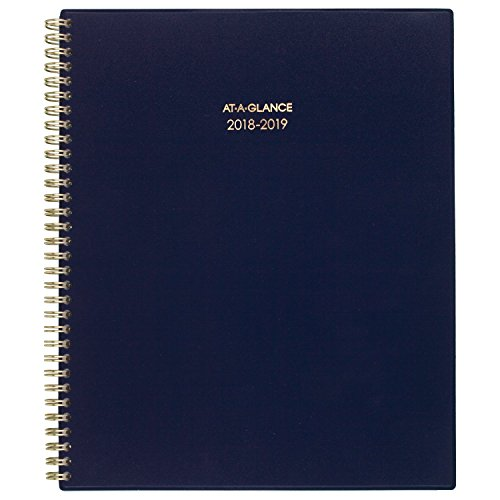 AT-A-GLANCE Academic Weekly / Monthly Planner, July 2018 - June 2019, 8-1/2