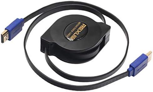 Gazechimp Cable HDMI Retráctil Macho A Macho para HDTV DVD ...
