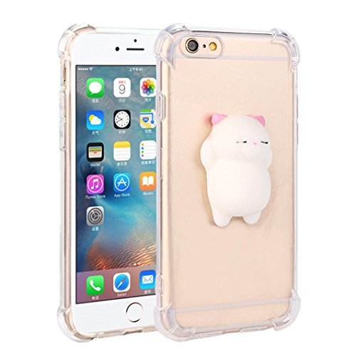 3D Cartoon Panda Soft Silicone Gel Back Case Cover For iPhone 6/6s - 8