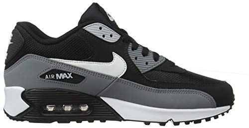 69e815b70d ... Nike Mens Air Max 90 Essential Running Shoes Black/White/Cool  Grey/Anthracite ...