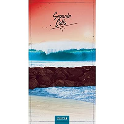 Bubel Seaside Serviette Vague Rose/Bleue