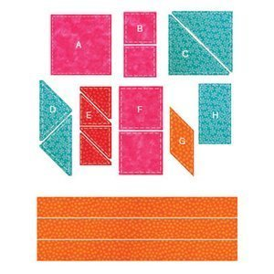 AccuQuilt GO! Best Sellers Die Set without GO! Fabric Cutter by AccuQuilt