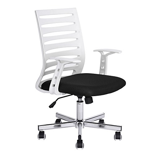 GreenForest Home Office Desk Chair, Mid-Century Modern Desig