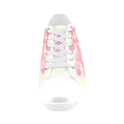 Artsadd Ethereal Tulips Canvas Shoes For Women(Model016) 0BTvv