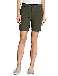 Women's Adventurer Stretch Ripstop Cargo Shorts - Slightly Curvy