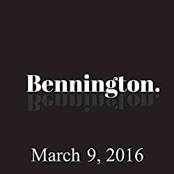 Bennington, March 9, 2016