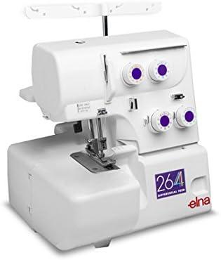 Elna 264 Máquina remalladora overlock de 4 hilos: Amazon.es: Hogar